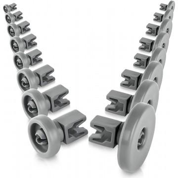 set di rotelle...